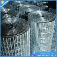 Hot sales galvanized welded wire mesh roll / PVC coated factory directly supply welded mesh rolls