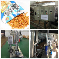 Chinese frying snack processing line/fried instant noodle making machine small vending