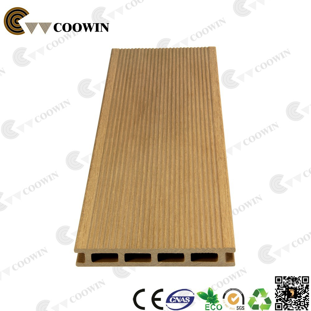 recycled healthy green China wood plastic composite decking floor supplies