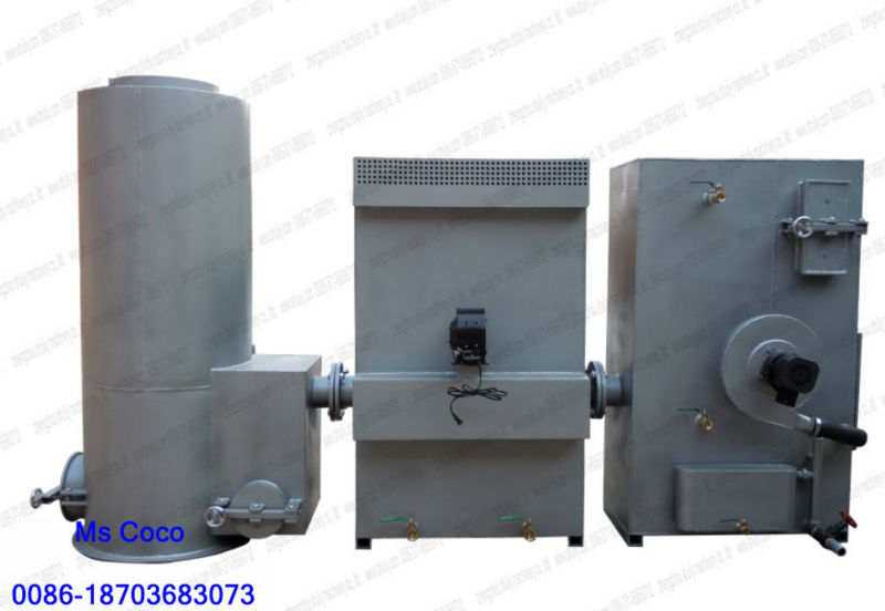Professional biomass gasifier with 10kw generator set //0086-18703683073