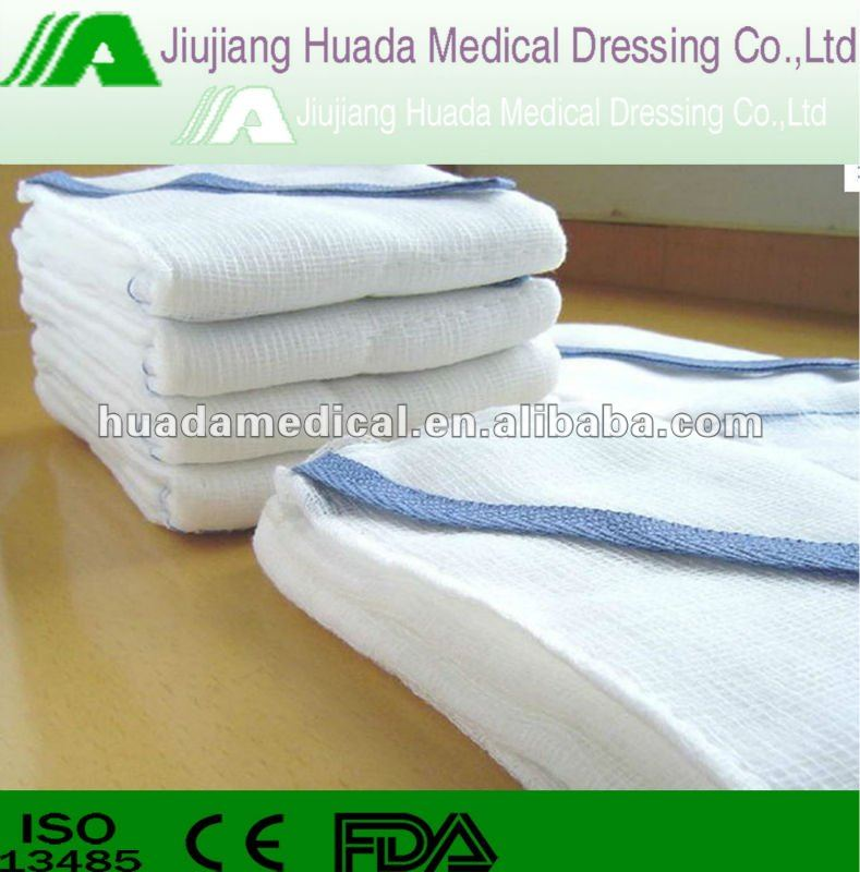 direct sales cotton gauze lap sponges for disposable use