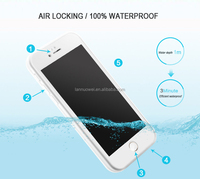 Wholesale 360 degree protector waterproof Phone Case PC TPU Mobile Phone Case for iPhone 6 7