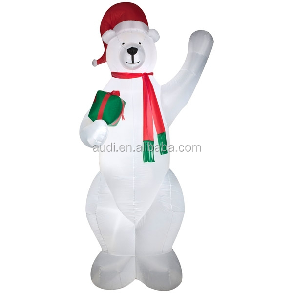 giant bear inflatable christmas bear inflatable polar bear for advertising