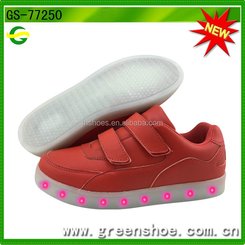 New arrival popular kids led flash shoes