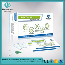 Various shapes hcv in vitro rapid test kits FDA cleared CE mark
