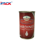 588# Sardines Fish Meat Tin Can Food Packaging