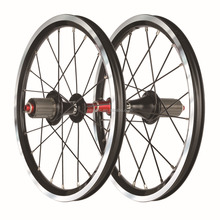 Carbon Bike Wheelset, Bicycle Wheel 16 inch Folding Bike Wheelset Clincher