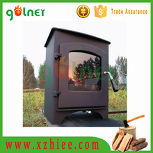 Good Quality free standing cast iron fireplace, antique wood stove with firebrick
