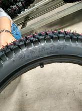 New pattern 2.75-14 China tubeless motorcycle tyre