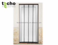 New Style Curtain Four Pieces of Screen Door with Mosquito Net