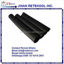 black rubber foam thermal insulation pipe