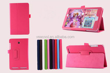 High Quality Litchi Pattern PU Leather Case For Acer Iconia A1-840 , Stand Case For Acer A1 840