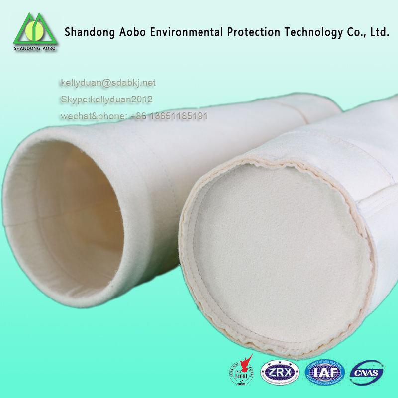 Coated PTFE membrane PPS Filter Bag for power plant