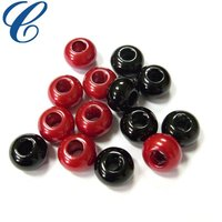 Plastic European beads with big hole
