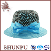 summer straw girls fashion sun bucket hat