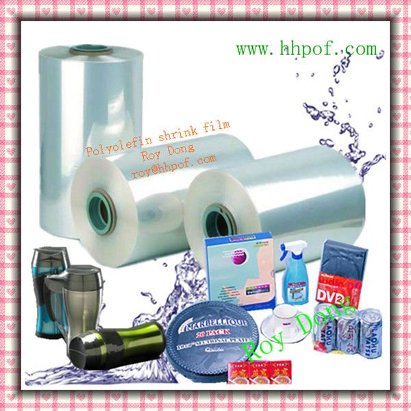 Multilayer polyolefin pof shrink film