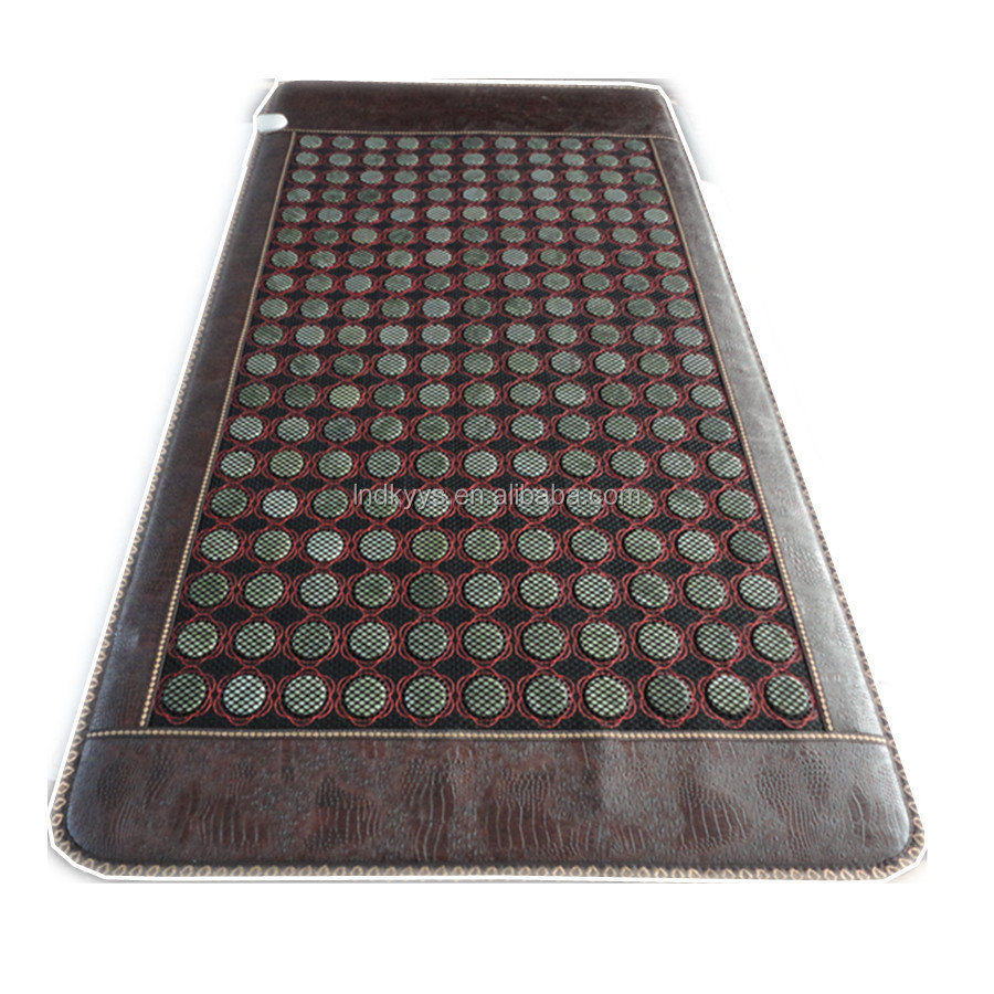 nuga best hot stone massage jade health mat far infrared ray mat