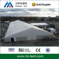 giant collapsible tent with strong frame structure