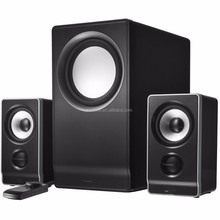 2.1 big display multimedia speaker home theater system mini portable double bass speakers,wireless bluetooth speaker