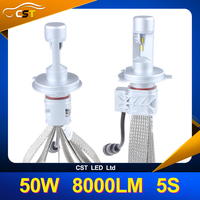 New arrival CST LED Super Bright Car Accessories Shop LED Auto Headlight 5S Air H4 LED Headlight Bulb for Cars Motorcycle