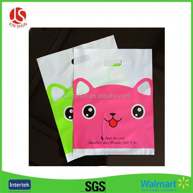 customized logo PP plastic woven shopping bag with customer full colorful printing for promotional