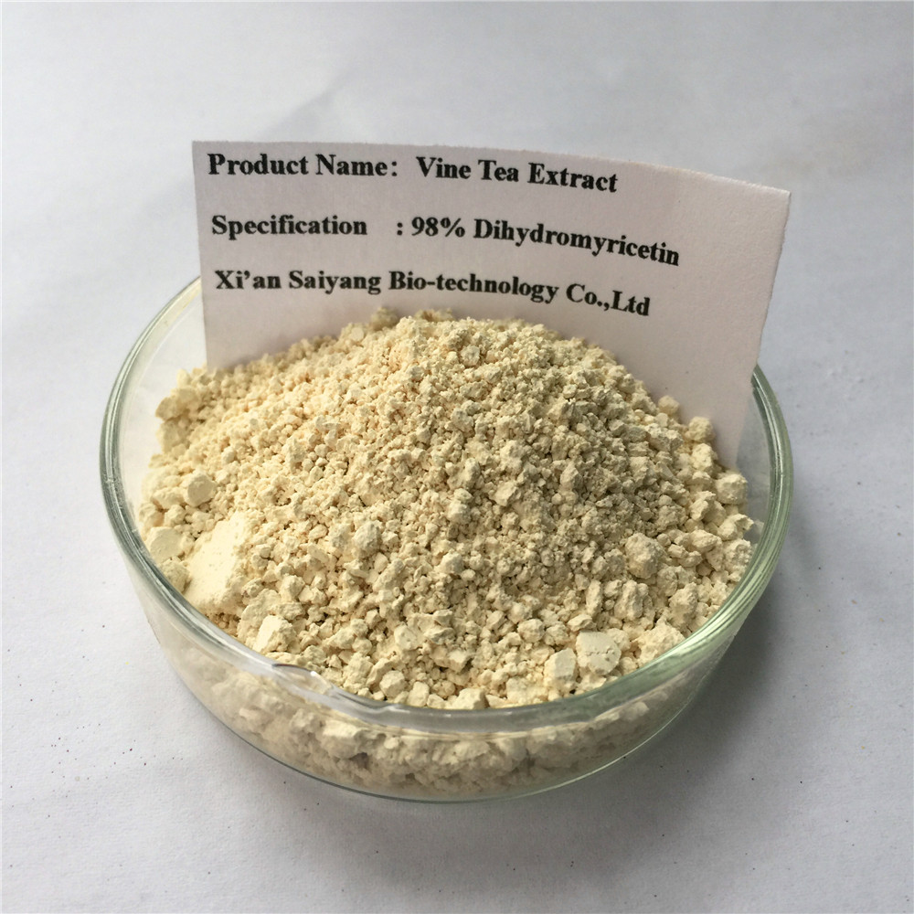 Free Sample Pure Vine Tea Extract Dihydromyricetin 98% Powder