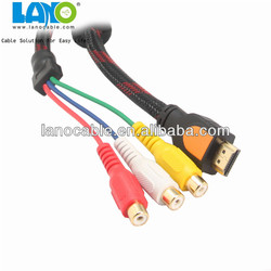 Best price s-video to hdmi cable good quality hdmi to optical female rca adapter cable