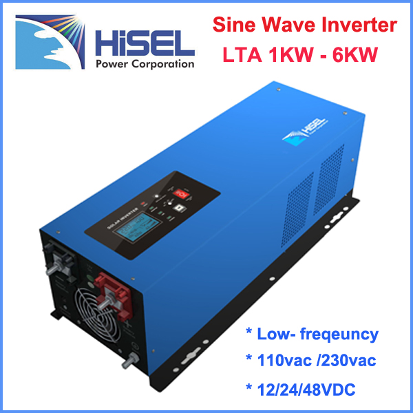 HiSEL 4000W pure sine wave power inverter 24v 48V 220v