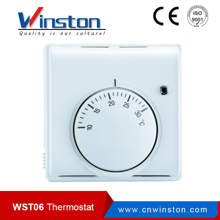 WST06 Hotel Electric Floor Heating Digital Thermostat
