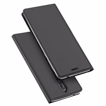For nokia 8 leather flip case Dux Ducis magnetic phone cover for nokia 8 PU wallet case MT-6693