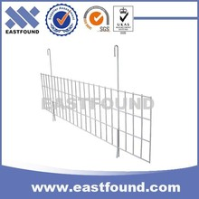 Welded Pallet Rack Shelf Hanging Galvanized Steel Wire Dividers