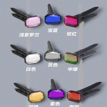 Color DIY car vents decorative ointment diamonds perfume