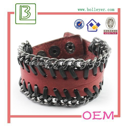 Genuine Leather Bracelet PU Bracelet for Women