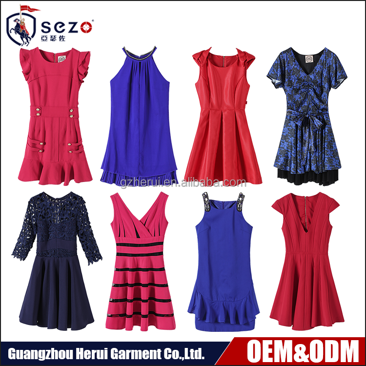 High Fashion Guangzhou Clothing Factory Ladies Summer Sexy Dress Top Selling Professional Casual Dresses For Women