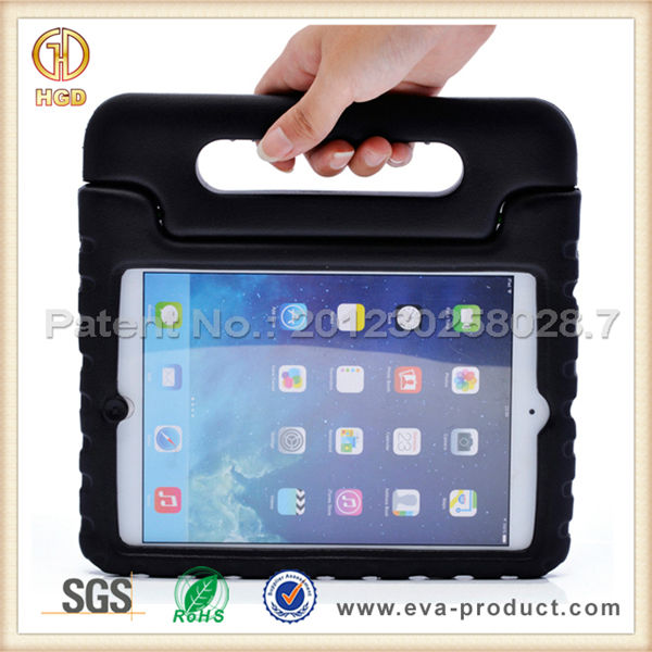 Kids Friendly Baby Safe EVA convertible stand case for ipad mini retina