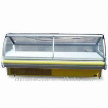 Lift-up Curved Glass Serve Over Counter with 1.8/2.4/3.6m Optional Width-1