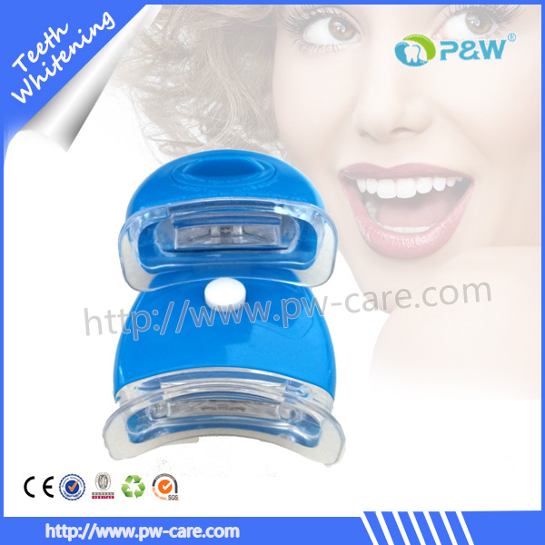 advanced teeth whitening lamp, mini battery operated micro led light