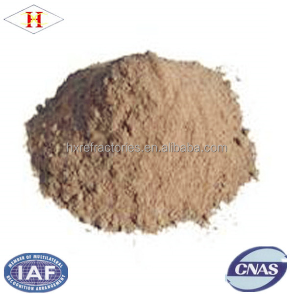 Power shape refractory calcium aluminate cement for ladle