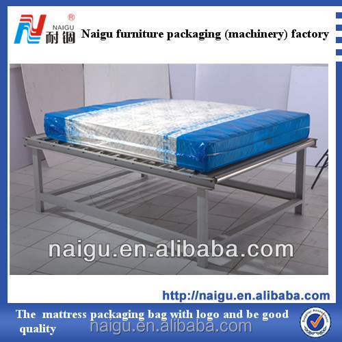 transparent polythene wrapping bag for mattress packing