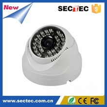 High Quality Outdoor Dome 1.0 Megapixel Vandalproof HD Security Dome IP Camera 720P Onvif with IR-Cut