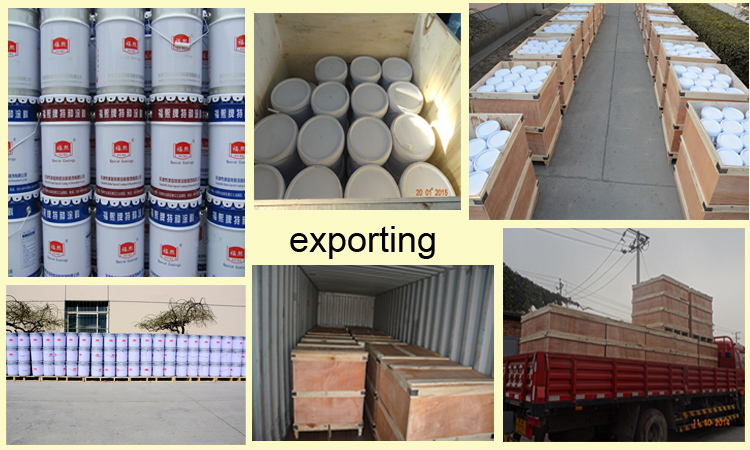 Acrylic Modified Perchlorethylene Anticorrosive Paint for pipe