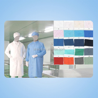 ESD smock/apron ,anti static cleanroom cloth,esd working cloth