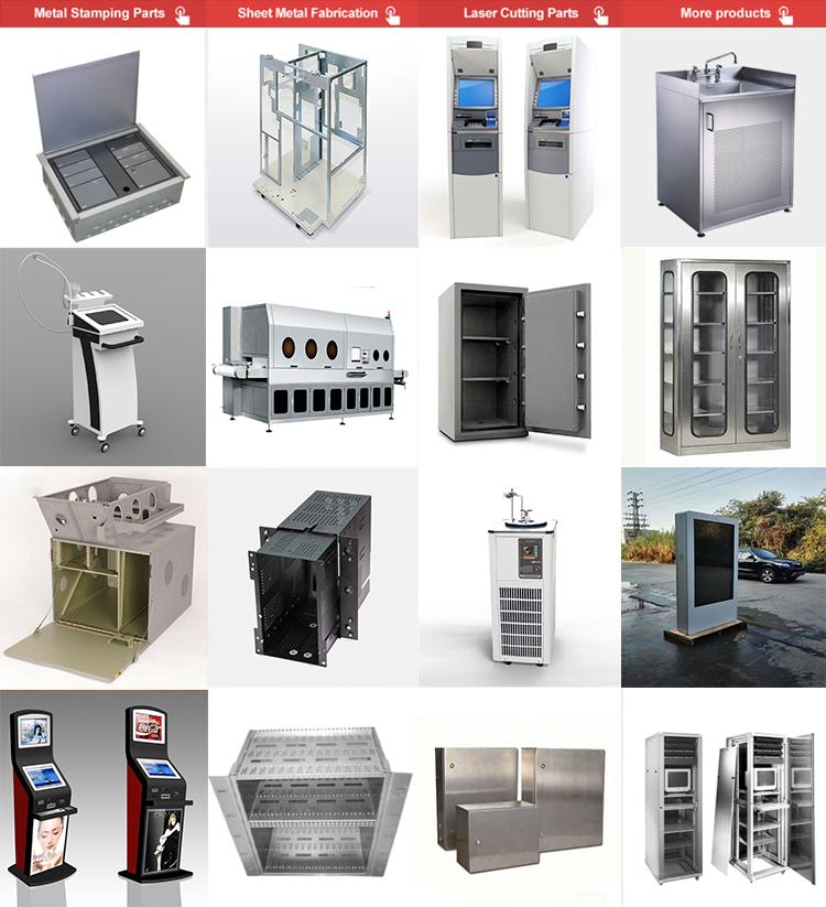 Boîtier de Commande En tôle Électrique Boîte En Acier Inoxydable En Métal En Aluminium Boîtier Électronique Boîtier
