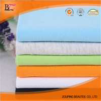100% cotton jersey fabric for making football sport garments with high quality
