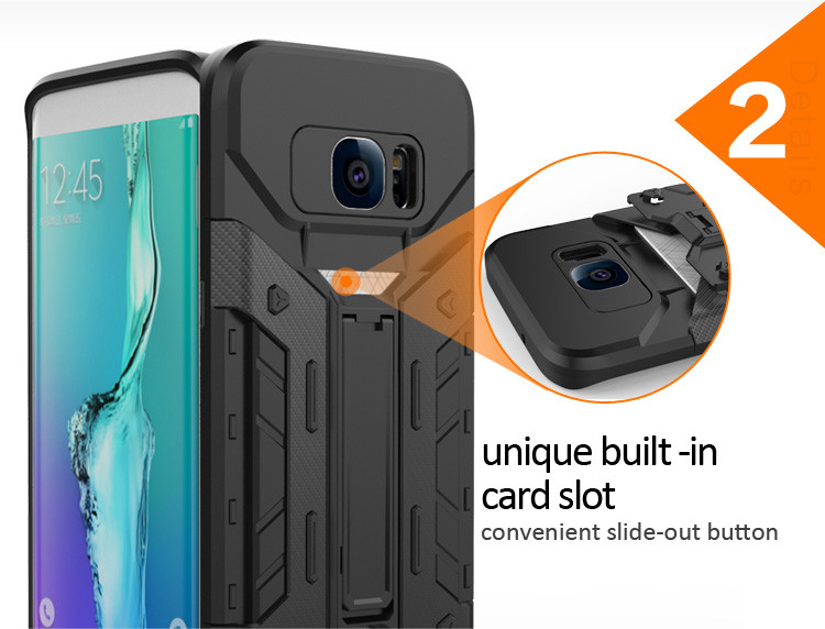 Guangzhou mobile accessories packaging wholesale market back cover for Samsung galaxy s7 edge