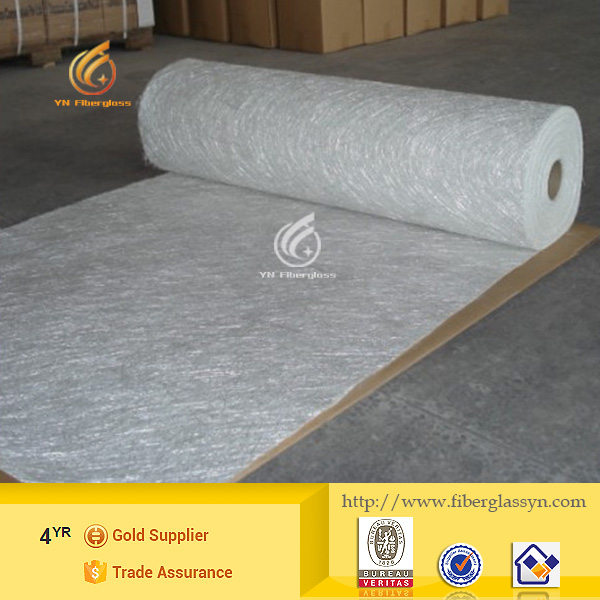 Glass raw material fiberglass chopped strand mat for floor heating