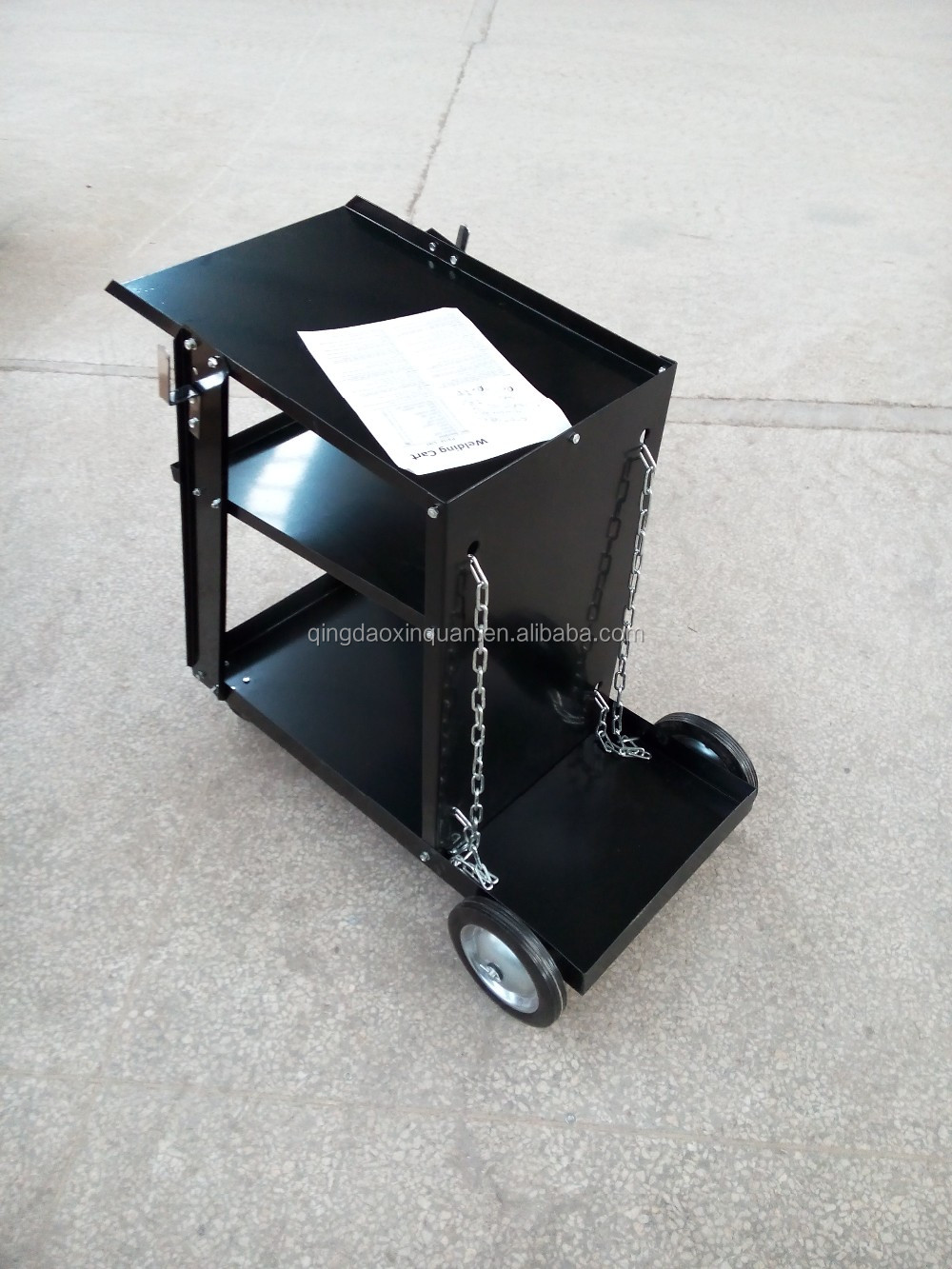 welding machine cart