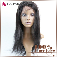 Factory cheap price for peruvian hair raw unprocessed virgin full lace wig