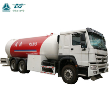 Sino Truck with LPG Pump and Meter 10 ton LPG Road Tanker