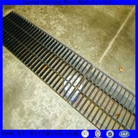 road drainage steel grating , steel grating making machine / welding machine